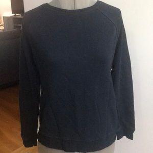 Forever 21 black sweatshirt. Zipper Back small